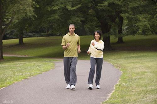 پیادهروی عادی برای سلامتی
