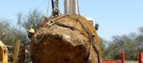 شهاب سنگ غول آسا به وزن ۳۰ تن در آرژانتین (+عکس)