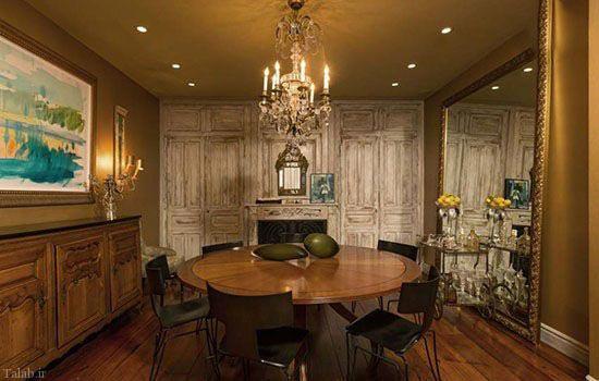 تصاویر دیدنی از خانه جنیفر لوپز در لس آنجلس