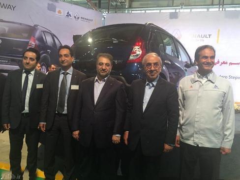 مراسم رونمایی از خودروی جدید رنو در ایران (+عکس)