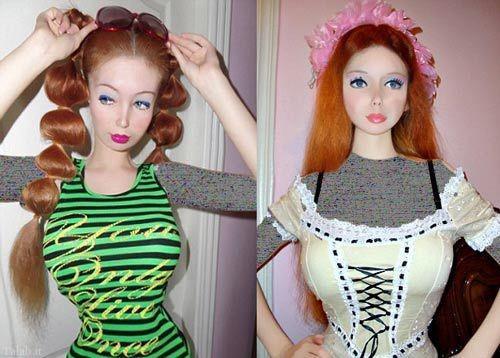دختری زیبا شبیه عروسک بدون عمل زیبایی (+عکس)
