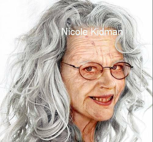 چهره ی بازیگران هالیوود در سال 2040