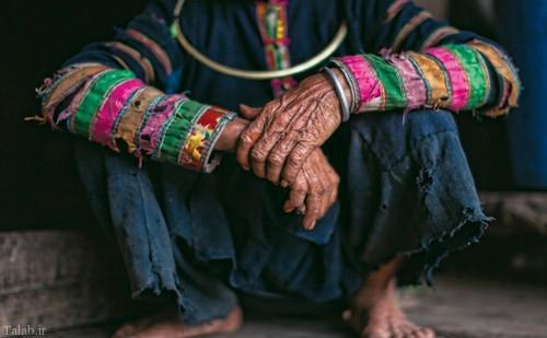 قبیله ای عجیب در حال انقراض و نابودی (+عکس)