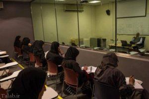 حضور استاد مرد در دانشگاه دختران (+عکس)
