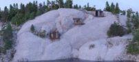 معماری جالب خانه سنگی در روسیه (+عکس)
