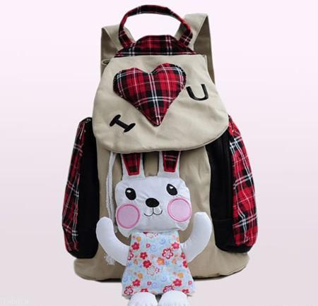 مدل جدید کیف مدرسه دخترانه با رنگ بندی شاد