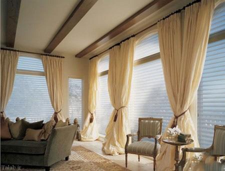 مدل پرده های زیبا برای خانه های زیبای شما