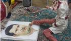 این دختر معلول علی دایی را شگفت زده کرد !+ عکس