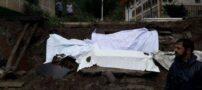 بیرون آمدن مردهها از قبرها در رامسر (+عکس)