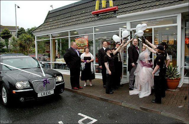 جالب ترین ازدواج ها در دنیا (+عکس)