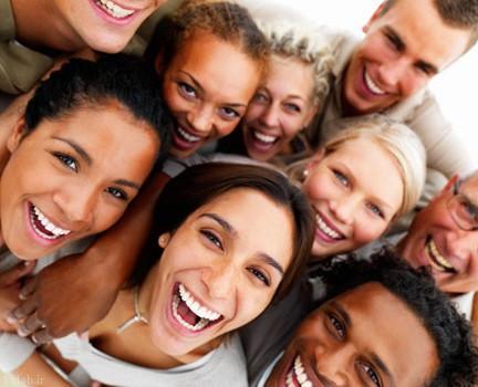 خندیدن برای قلب خوب است
