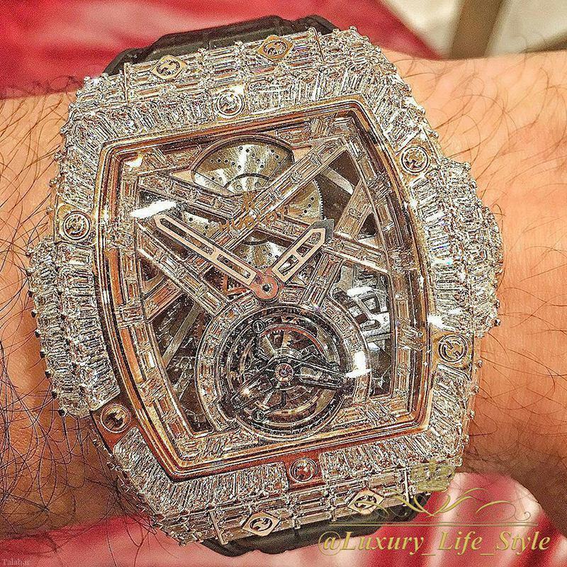 گرانترین ساعت دنیا از جنس الماس (عکس)