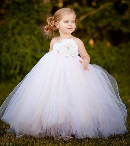 مجموعه ای از شیک ترین لباس عروس های بچه گانه