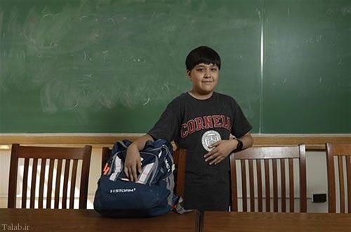 جوان ترین پسر دانشجو در آمریکا (+عکس)