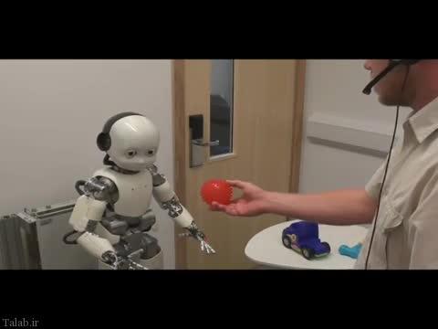 پروژه ساخت ربات نوزاد در دانشگاه انگلیس