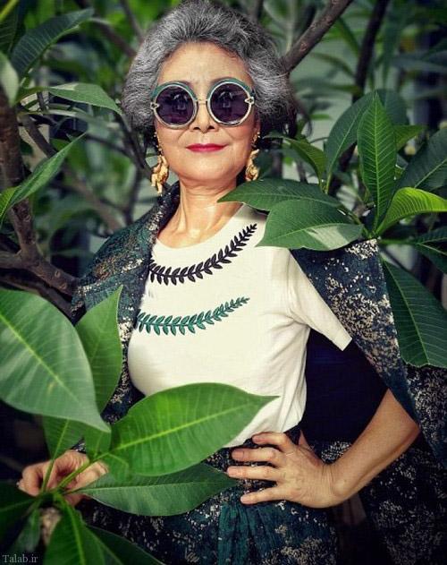 باحال ترین مادربزرگ دنیا (+عکس)