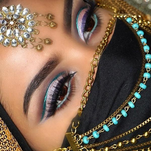 مدل خط چشم هندی عروس ( تصویری)