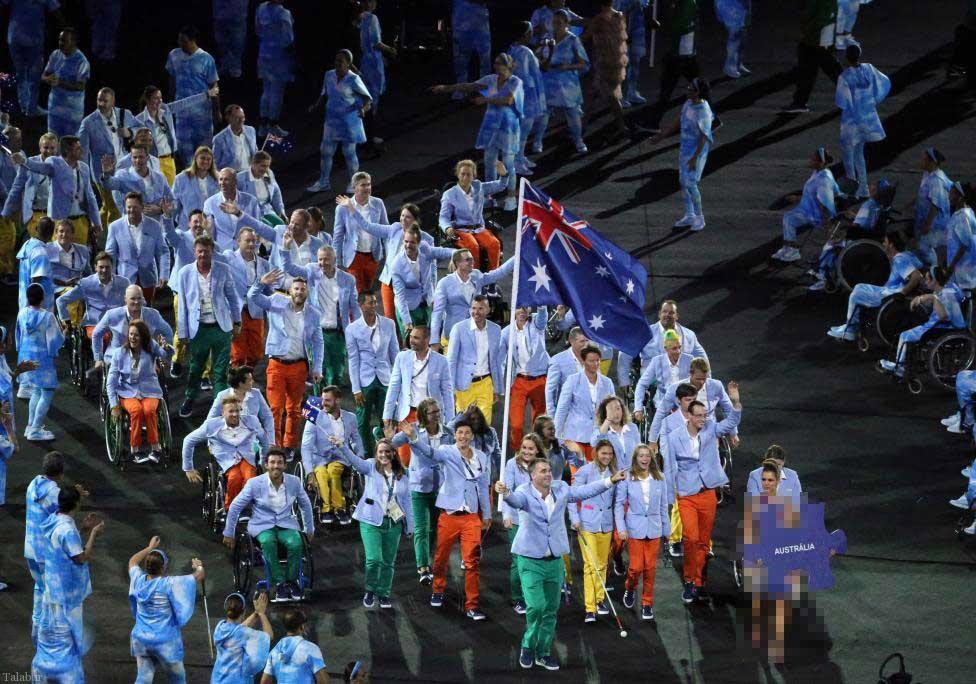 تصاویر از مراسم افتتاحیه پارالمپیک ۲۰۱۶ ریو