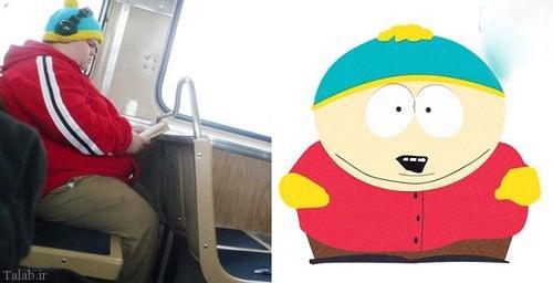 افراد معمولی شبیه به شخصیت های کارتونی (+عکس)