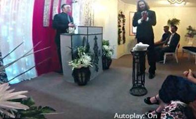 ازدواج مرد آمریکایی با گوشی !+ عکس