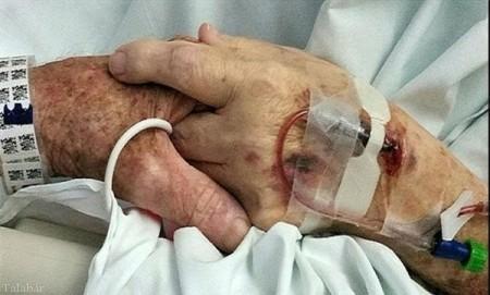 زوج عاشق در آغوش یکدیگر مردند (+عکس)