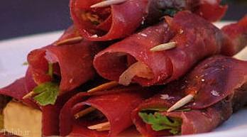 طرز تهیه رولت گوشت ایتالیایی