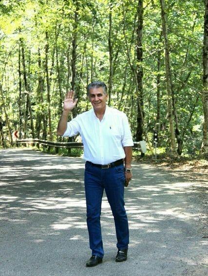 همزاد (کی روش) سر مربی تیم ملی در ایران