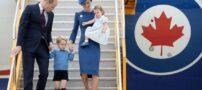 اولین سفر خارجی خانواده سلطنتی چهار نفره انگلیس (+عکس)