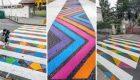 خطوط عابر پیاده جالب در کشور اسپانیا (+عکس)