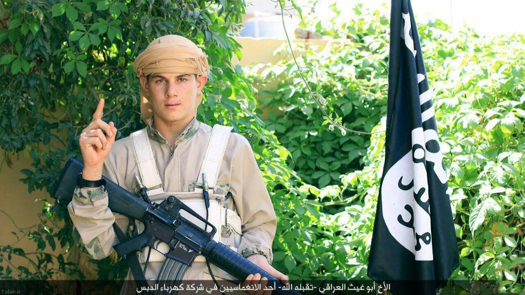 تصاویر تروریست های داعش در شهادت مهندسان ایرانی
