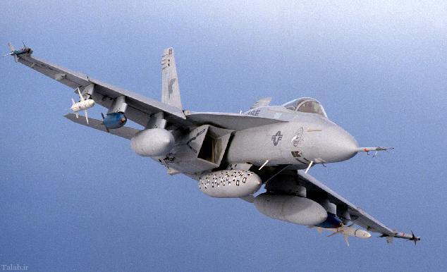 آشنایی با جنگندهء F-18