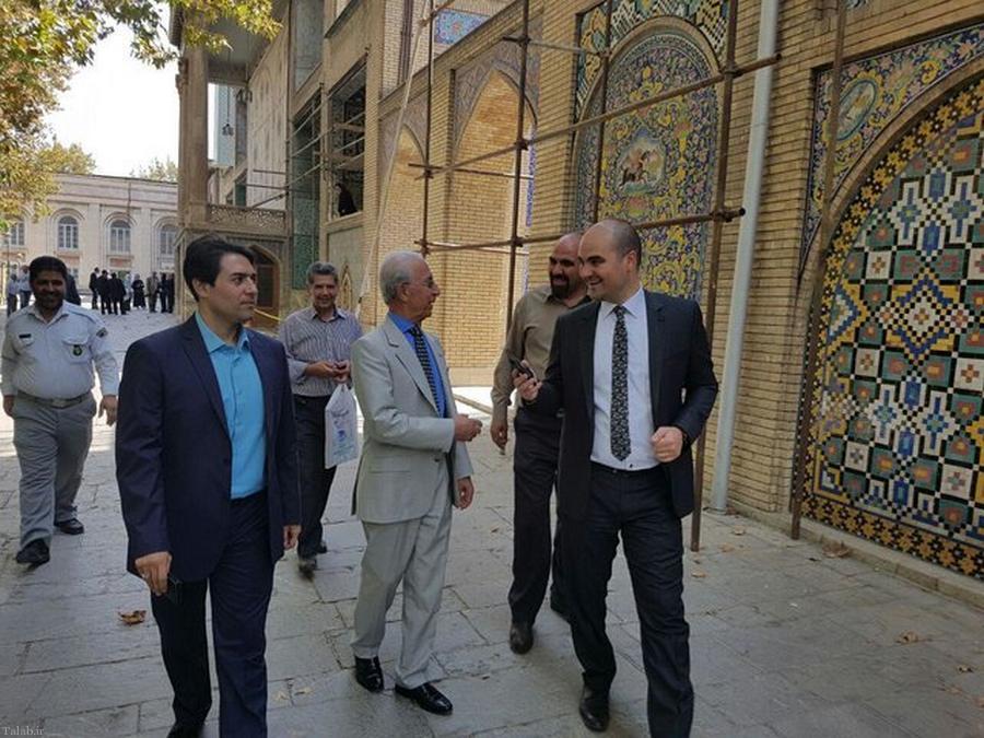 حضور دکترسمیعی در موزه ملی ایران (+عکس)