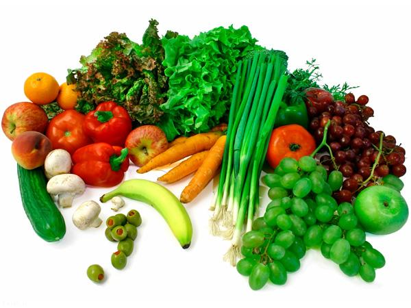 فیبر محلول در میوه ها و سبزیجات