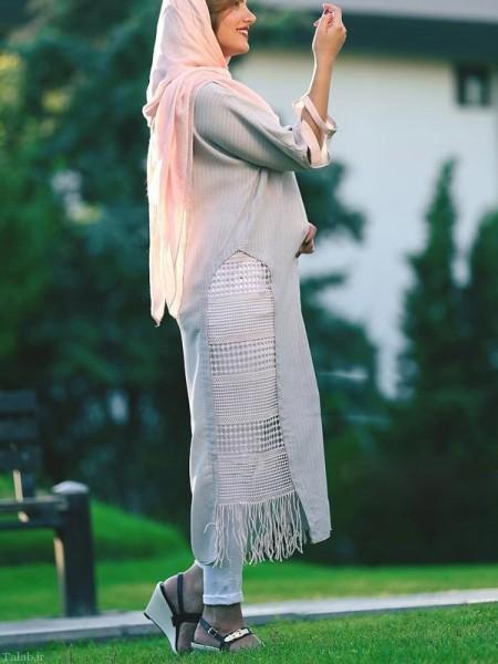 مدل مانتو زیبای مجلسی