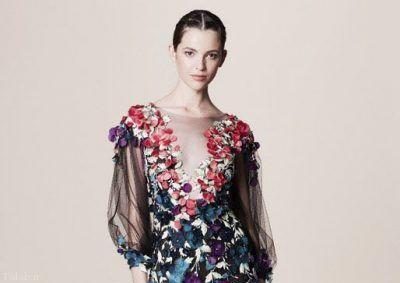 مدل های لباس جذاب زنانه از برند Marchesa