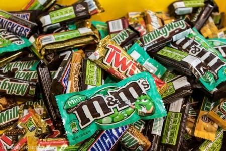 تصاویر دیدنی از سرزمین شکلات سازی مارس در آمریکا