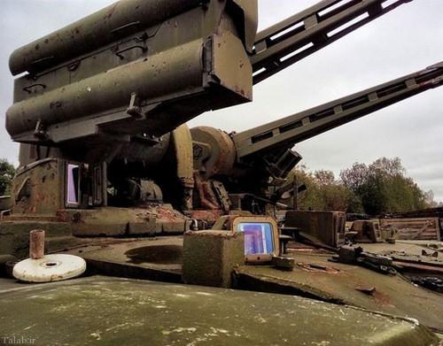 گورستان تانک های ارتش روسیه (+عکس)