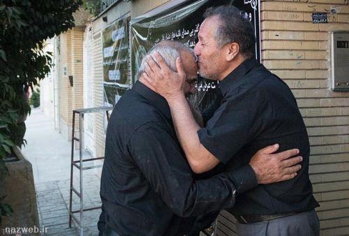 استقبال گریان از بهمن گلبارنژاد