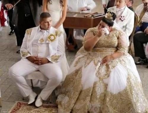 لباس عروس 600 میلیون تومانی از طلا (+عکس)