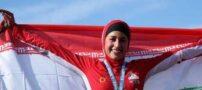 ورزشکار زن ایرانی در مسابقات دشوار مردان آهنین (+عکس)