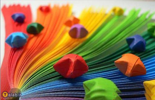 تصاویر زیبا و دیدنی از بازی رنگ ها