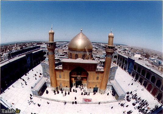 عکسهایی از نجف اشرف مرقد حضرت علی (ع)