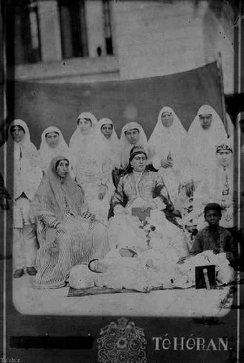 عکس نایاب از ملکه ی دربار ناصرالدین شاه