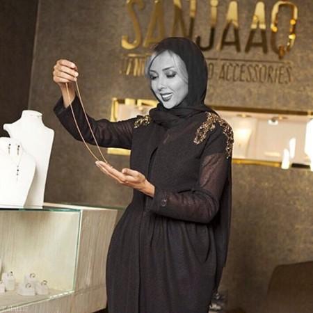 تصاویری از حضور بازیگران در جواهر فروشی شاهرخ استخری