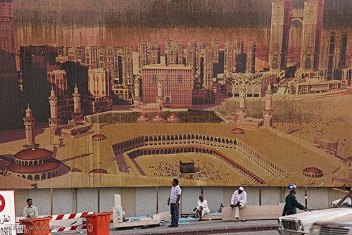 نمایی از شهر مکه (+عکس)