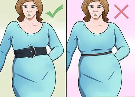 چطور شکم و باسن بزرگ خود را مخفی کنیم ؟