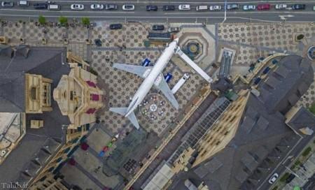 هواپیمای بوئینگ 747 قدیمی تبدیل به رستوران شد (+تصاویر)
