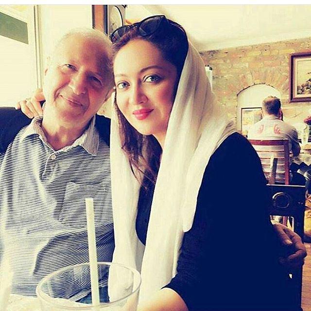 عکس جدید اینستاگرام نیکی کریمی با پدرش