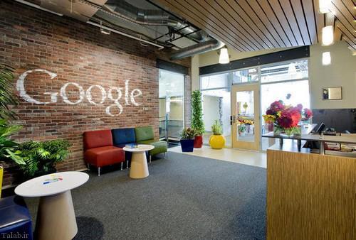 تصاویری دیدنی از محیط کاری گوگل (+عکس)