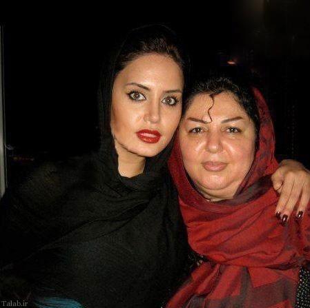 تصاویری از ستارگان ایرانی با مادرهایشان